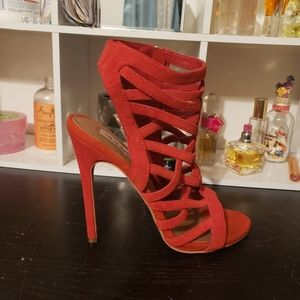 Steve Madden Strappy Heel Sandals